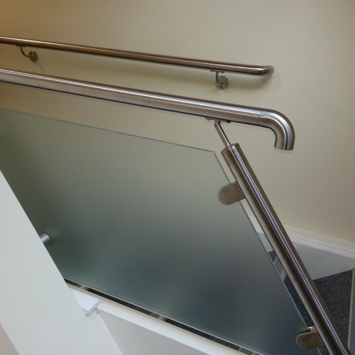 8mm Toughened Frosted Glass Panels