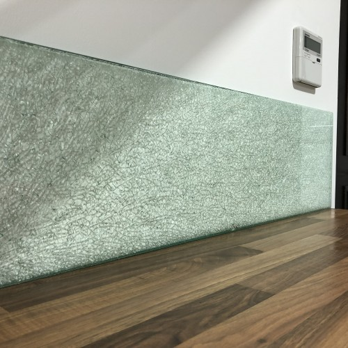 15mm Crackle Glass Panels