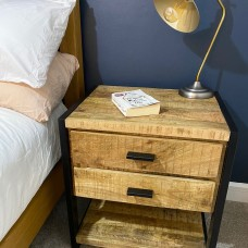 Chunky Bedside Table