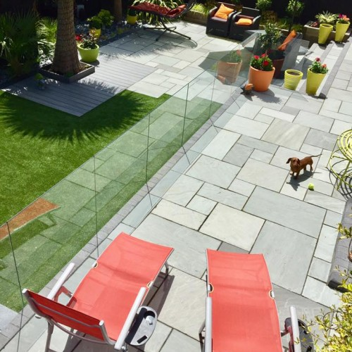 Patio Glass Fencing System 11
