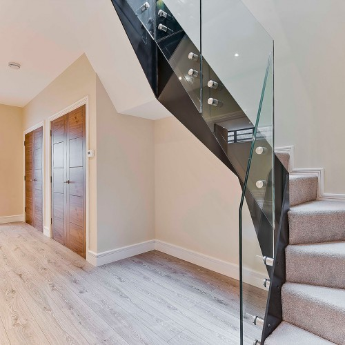 Side Fixed Glass Balustrade - System 7