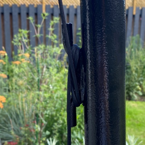 Washing Line Pole - With Loop and Cleat