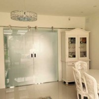 12mm Toughened Frosted Glass Panels