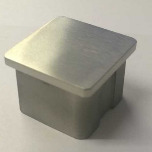 Square Stainless End Cap