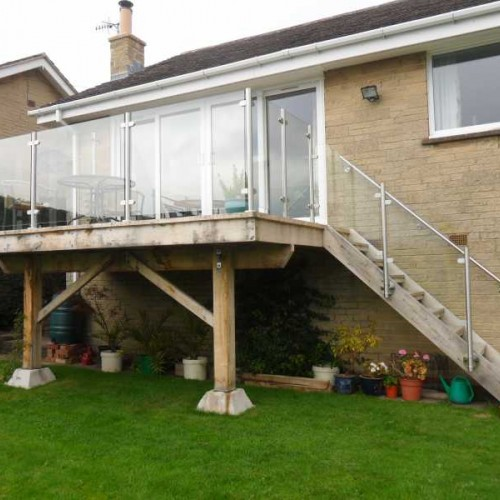 Stainless Steel Glass Balustrade System 2