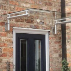 Modern and Contemporary Glass Door Canopy T1