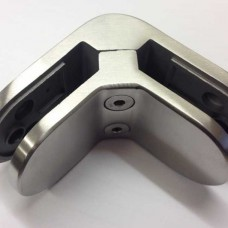 Stainless Steel 90 Degree Corner Glass Clamp