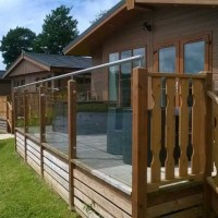 DIY Glass Decking Railings - System 6