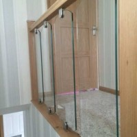 Shaped Stair and Decking Glass Panels