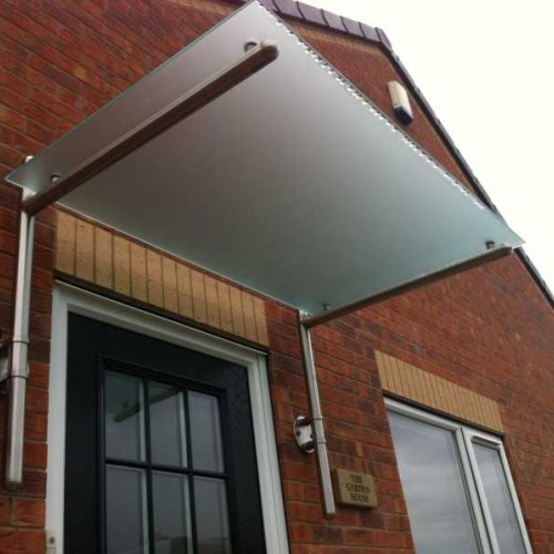 10mm Toughened Frosted Glass Panels