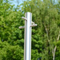 Washing Line Pole - Stainless Steel