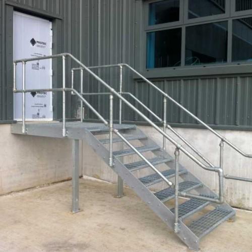Diy Key Clamp Handrailing