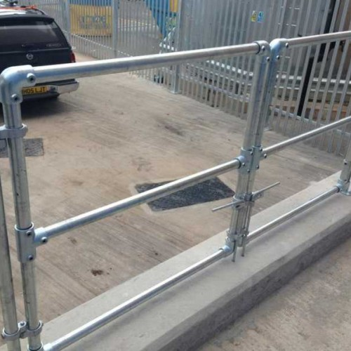 DIY Key Clamp Handrailing