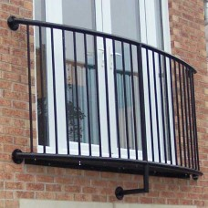 Curved Juliet Balcony - Lincoln