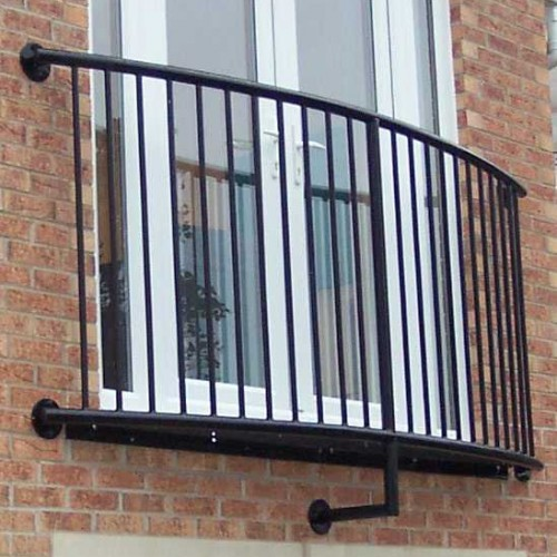 Curved Juliet Balcony Lincoln