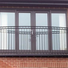 Curved Juliet Balcony - Lancaster