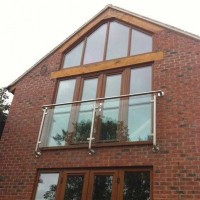 Stainless Steel Juliet Balcony - Elegance