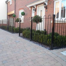 Hoop Top Railings
