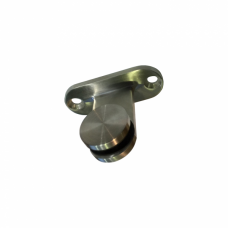 T shaped glass clamp bracket