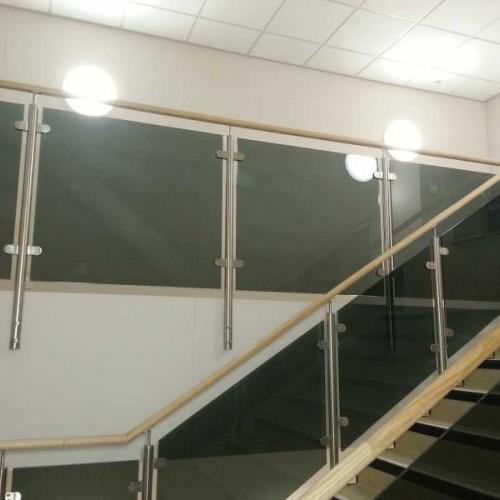 Grey Smoked Tinted Toughened Glass Panels