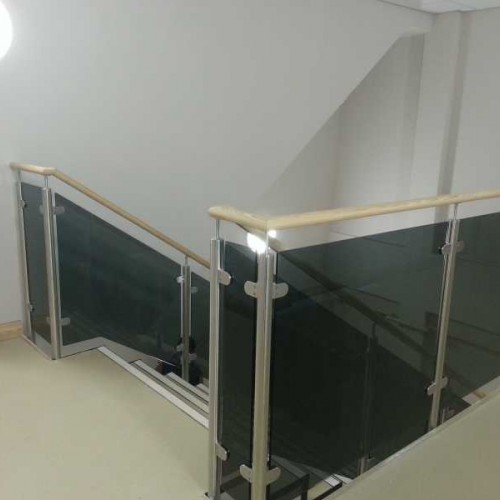 Grey Smoked Tinted Toughened Glass Panels