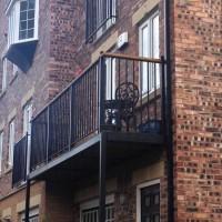 Walk-Out Balcony + Ornate Balustrade