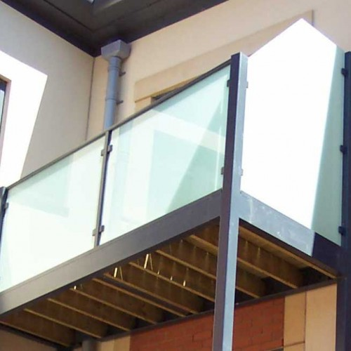 Walk-Out Balcony + Glass Balustrade