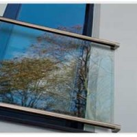 Glass Juliet Balcony 'Wembley'