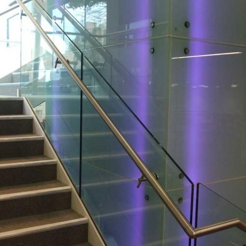 Offset Glass Handrail Bracket