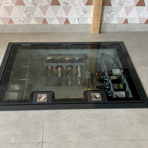 Hinged Glass Floor