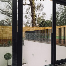 Frameless Juliet Balcony - Canterbury