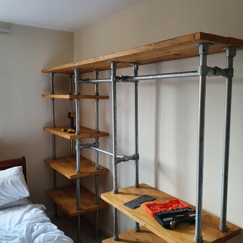 Bespoke Industrial Shelving Units