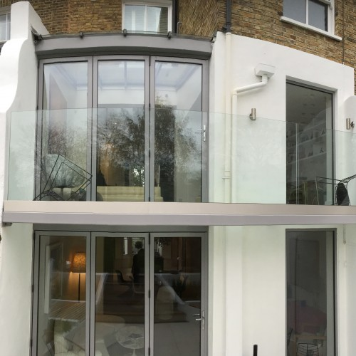 Infinity Walk-on Glass Balcony + Balustrade