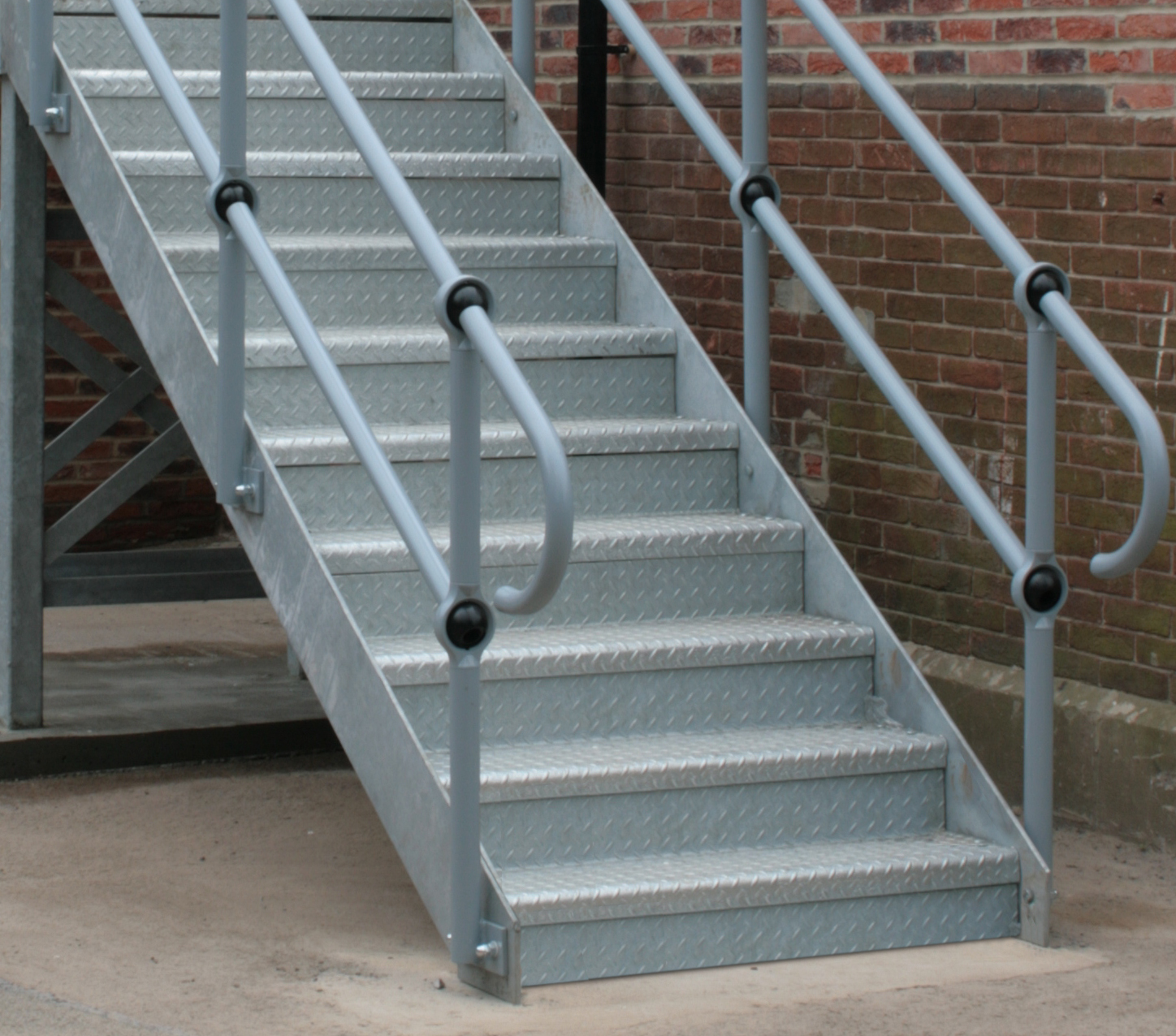 Metal Staircases / Fire Escape Stairs
